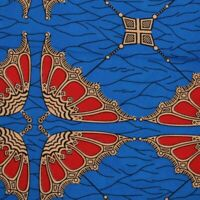 Yellow - White Stylish Fabric African Ankara Wax Print Style SH8112-6 Yards