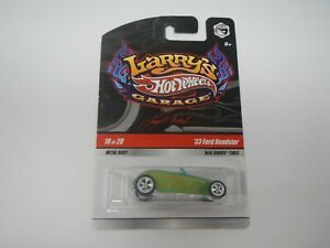 Hot Wheels Larry's Garage '33 Ford Roadster Green Real Riders 18/20