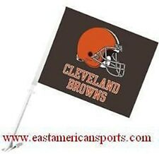 Cleveland Browns NFL Car Flag Window Banner Auto Truck Fan Automotive