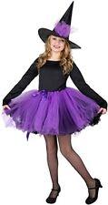 Karnival Witch Girl Costume Set (Black/Purple) - Large