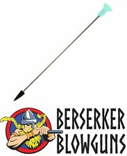 100 - .40 cal Glow In The Dark Pro Length Broadhead  Blowgun Darts from Berserke