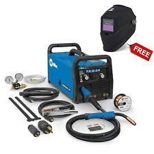 Miller Multimatic 215 Auto-Set Multiprocess Welder w/FREE Helmet (907693)