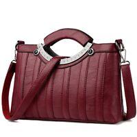 Ladies Soft Leather Handbags Sac A Main Female Shoulder Crossbody Messenger Bags