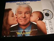 "FATHER OF THE BRIDE PART 11<>STEVE MARTIN<>12"" Laserdisc<>TOUTCHSTONE  6695AS"