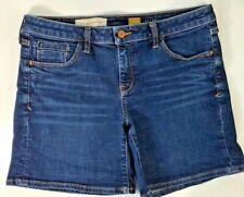 Anthropologie Pilcro and the Letterpress Stet Womens Jean Shorts Blue Juniors 29