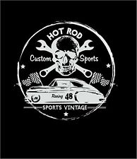 hot rod work shirt uniform custom sportz vintage repair route 66 biker rat hotro
