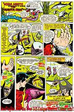 """Hostess Twinkies Aquaman """"Mera Meets the Manta Men"""" w/ AquaLad Comic Print Ad!"""