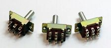 3PDT Slide Switch Package of 3