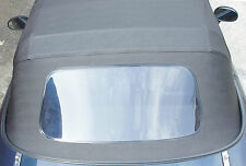 MAZDA MX-5 Vinyl-Verdeck Faltdach NEU schwarz PVC einteilig Plastikscheibe