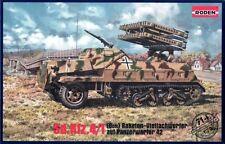 SD.KFZ 4/1 8cm RAKETENWERFER AUF PANZERWERFER 42 (WEHRMACHT MKGS) 1/72 RODEN