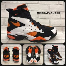 Nike Air Maestro II Ltd, Tg. UK 8, UE 42.5, US 9, AH8511-101, nero, MAX ARANCIONE