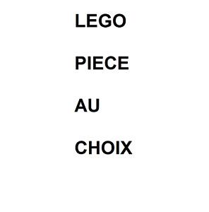 PIECES  LEGO  AU  CHOIX  /  NEUF  ET  OCCASION