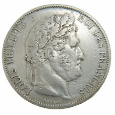 [#50108] Francia, Louis-Philippe, 5 Francs, 1846, Lille, MB+, Argento