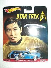 Star Trek 50th Hot Wheels Vehicle Car 70 Chevelle Delivery Sulu