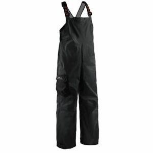Black Grundens Weather Watch Waterproof Sport Fishing Rain Bibs Trousers Gage