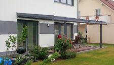 Terrassenüberdachung aus Alu 6000 x 4500 mm Überdachung Glasdach Vordach