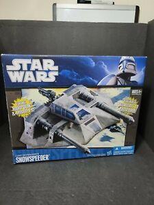 STAR WARS Luke Skywalker SNOWSPEEDER Vehicle Hasbro 2009