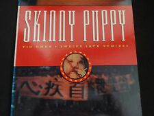 "Skinny Puppy ""Tin Omen-Twelve Inch Remixes"" Vinyl EP. Out Of Print. VERY RARE !"