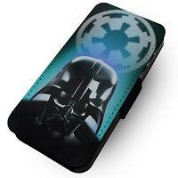 Vader Disegni Stampato Finta Cover Custodia A Flip In Pelle Per Cellulari Star