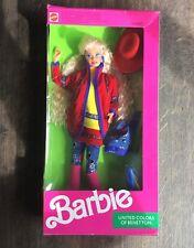 1990 Vintage Benetton Barbie Doll MIB