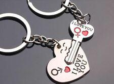 I LOVE YOU Schlüssel zu meinem Herzen Schlüsselbund Hochzeit Geschenk
