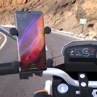 Universel Support de Téléphone Portable GPS en Aluminium pour Moto Vélo et MTB