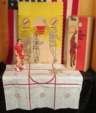 Vintage 1950s Mr. Basketball Tabletop Action Game w/Original Box Sports Toy Rare