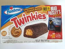 NEW Hostess Chocolate Peanut Butter Twinkies 10 Count Free Worldwide Shipping
