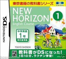 Used DS New Horizon English Course DS 1  NINTENDO JAPANESE IMPORT