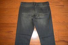 BUFFALO - 'DRIVEN-X'  Straight Leg Stretch Dark Gray Black Jeans - Men 34 x 32