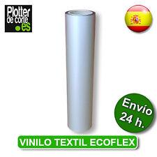 T-SHIRT VINYL vinilo textil COLOR PLATA PLATEADO SILVER no adhesivado OFERTA