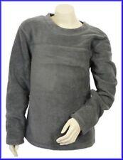 Vêtements gris avec col rond manches longues pour fille de 2 à 16 ans