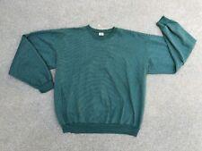 Gopher Sport Herren Vintage 80er Jahre Dick Gestreift Retro Sweatshirt | XL