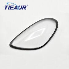 Headlight Lens Cover Headlamp Lens Fit For PORSCHE 981 Left side 2013-2015