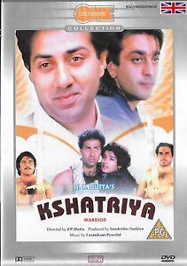 KSHATRIYA - DHARMENDRA - SUNNY DEOL - NEW ORIGINAL BOLLYWOOD DVD