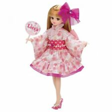 Takara Tomy Licca Chan Lw-13 Festival Dress Pink Outfit Set only dress