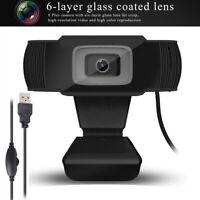 12MP USB 2.0 Webcam Computer PC Laptop  720P HD Camera Web Cam With Microphone