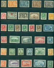 CANADA 1888/1937 56 DIFF. UNUSED FRESH VF GROUP OF BETTER STAMPS  NO GUM