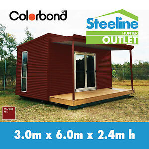 Brand New COLORBOND® Kit Shed