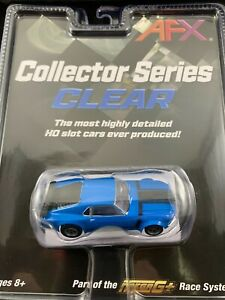 21026 AFX MEGA G PLUS FORD MUSTANG BOSS 302 BLUE TOMY AURORA  COLLECTOR SERIES