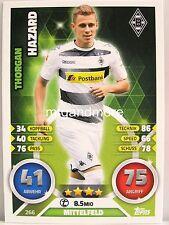 Match Attax 2016/17 Bundesliga - #266 Thorgan Hazard - Mönchengladbach