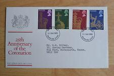 1978 GB FDC - Coronation, Romford FDI