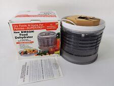 New Emson Electric Food Dehydrator