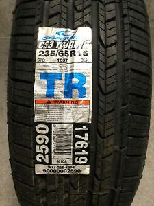 1 New 235 65 16 Cooper CS3 Touring Tire