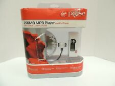 Rare Virgin Pulse 256MB MP3 Player VP-MPF-1000 With FM Radio