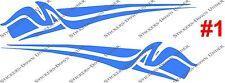 1mt BOAT GRAPHICS #1 Custom Sticker kit JetSki Fishing Ally Craft Haines Sea-ray