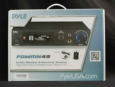 Pyle PDWMN49 In-Ear Wireless Monitor and Receiver System