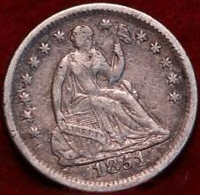 1851-O New Orleans Mint Seated Liberty Silver Half Dime