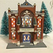 Dept 56 Christmas In The City #58941 Precinct 25 Police Station