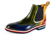 Melvin & hamilton señores Tom 13 chelsea botas botas verde talla 41